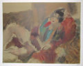 Fine Art - Work on Paper:Print, After Jules Pascin. Marionette. Lithograph in colors. 21-1/2 x 29 inches (54.6 x 73.7 cm). Ed. 125...