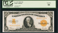 Large Size:Gold Certificates, Fr. 1173 $10 1922 Gold Certificate PCGS Gem New 66.. ...