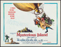 "Movie Posters:Science Fiction, Mysterious Island (Columbia, 1961). Half Sheet (22"" X 28""). ScienceFiction.. ..."