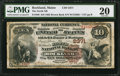 National Bank Notes:Maine, Rockland, ME - $10 1882 Brown Back Fr. 488 The North NB Ch. # 2371....
