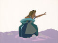 Animation Art:Production Cel, Alice in Wonderland Production Cel Setup (Walt Disney,1951)....