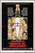 "Movie Posters:Mystery, Murder on the Orient Express (Paramount, 1974). One Sheet (27"" X41""). Mystery.. ..."