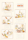 Animation Art:Production Drawing, Donald's Cousin Gus Good Housekeeping Original Art (WaltDisney, 1938)....