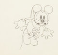 Animation Art:Production Drawing, Trader Mickey Mickey Mouse Animation Drawing (Walt Disney, 1932)....
