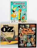 Memorabilia:Science Fiction, Wizard of Oz Related Hardcover Books Group of 3 (Various Publishers) Average Condition: VF/NM.... (Total: 3 Items)