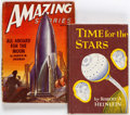 Memorabilia:Science Fiction, Science Fiction Related Group of 2 Books (Various Publishers, 1947-56).... (Total: 2 Items)