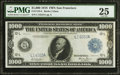 Large Size:Federal Reserve Notes, Fr. 1133-L $1,000 1918 Federal Reserve Note PMG Very Fine 25.. ...