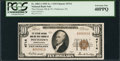 National Bank Notes:Pennsylvania, Pottstown, PA - $10 1929 Ty. 1 The Citizens NB & TC Ch. # 4714Serial Number 1. ...