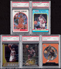 Basketball Cards:Lots, 1988-1998 Basketball Michael Jordan Collection (5)....