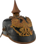Militaria:Helmets, Imperial German Model 1895 Prussian Spiked Helmet....