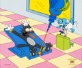 "Animation Art:Limited Edition Cel, The Simpsons ""Spay Anything"" Limited Edition Cel #12/300(Fox, 1993)...."