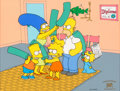 "Animation Art:Limited Edition Cel, The Simpsons ""Bat's Entertainment"" Limited Edition Cel #20/300(Fox, 1994)...."