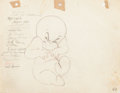 Animation Art:Production Drawing, Casper the Friendly Ghost Animation Drawings Group of 2 (Famous,1950s).... (Total: 2 Original Art)