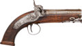 Handguns:Muzzle loading, Loughbro London Percussion Pistol....