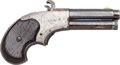 Handguns:Derringer, Palm, Remington Rider Magazine Pistol....