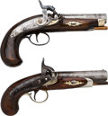 Handguns:Derringer, Palm, Engraved Pair of Philadelphia Derringer Pistols.... (Total: 2Items)