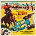 """Movie Posters:Western, Cow Town (Columbia, 1950). Six Sheet (79"""" X 80""""). Western.. ..."""