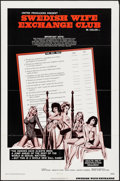"""Movie Posters:Adult, Swedish Wife Exchange Club & Others Lot (American International, 1972). One Sheets (3) (27"""" X 41""""). Adult.. ... (Total: 3 Items)"""