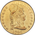 Early Half Eagles, 1798 $5 Large Eagle, Small 8, BD-8, R.5, VF35 PCGS....