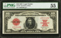 Large Size:Legal Tender Notes, Fr. 123 $10 1923 Legal Tender PMG About Uncirculated 55.. ...