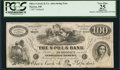 Obsoletes By State:Ohio, Dayton, OH- Oliver Crook & Co. $100 Advertising Note. ...