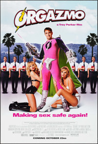 """Orgazmo & Other Lot (Rogue Pictures, 1998). One Sheets (2) (27"""" X 40""""). Comedy. ... (Total: 2 Items)"""
