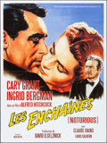 "Movie Posters:Hitchcock, Notorious (Buena Vista, R-1990s). French Grande (47"" X 63""). Hitchcock.. ..."