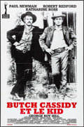 "Movie Posters:Western, Butch Cassidy and the Sundance Kid (Action Gigantes, R-1990s).French Half Grande (31"" X 46.5""). Western.. ..."