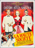 """Movie Posters:Musical, High Society (MGM, R-1980s). French Grande (46"""" X 62""""). Musical.. ..."""