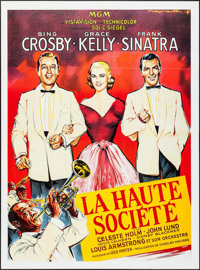 """High Society (MGM, R-1980s). French Grande (46"""" X 62""""). Musical"""