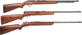 Long Guns:Other, Lot of Three Winchester .22 Caliber Rifles.... (Total: 3 Items)