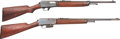 Long Guns:Other, Lot of Two Winchester Self-Loading Rifles.... (Total: 2 Items)