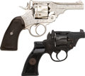 Handguns:Double Action Revolver, Lot of Two Webley Double Action Revolvers.... (Total: 2 Items)