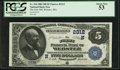 National Bank Notes:Massachusetts, Webster, MA - $5 1882 Date Back Fr. 534 The First NB Ch. # (N)2312. ...