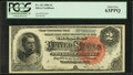 Large Size:Silver Certificates, Fr. 242 $2 1886 Silver Certificate PCGS Choice New 63PPQ.. ...