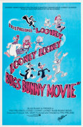 Memorabilia:Disney, The Looney, Looney, Looney, Bugs Bunny Movie MelBlanc-Signed Movie Poster One Sheet (Warner Brothers, 1981)....