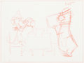 Animation Art:Production Drawing, Huckleberry Hound and Yogi Bear Animation Drawings Group of 10(Hanna-Barbera, 1959/60).... (Total: 10 Original Art)