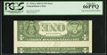 Error Notes:Inverted Reverses, Fr. 1934-L $1 2009 Inverted Reverse Federal Reserve Note. PCGS GemNew 66PPQ.. ...