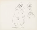 Animation Art:Concept Art, Raw! Raw! Rooster Rhode Island Red Character Study (WarnerBrothers, 1956)....