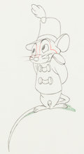 Animation Art:Color Model, Dumbo Timothy Mouse Color Model (Walt Disney, 1941)....