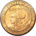 Commemorative Gold, 1915-S $50 Panama-Pacific 50 Dollar Round MS65 PCGS Secure. CAC....