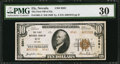 National Bank Notes:Nevada, Ely, NV - $10 1929 Ty. 2 The First NB Ch. # 8561. ...
