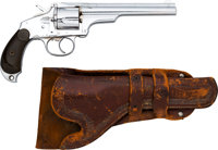 Merwin Hulbert & Co. Double Action Revolver with Leather Holster