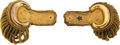 Militaria:Uniforms, Pair of 19th Century U.S. Army Officer's Epaulettes.... (Total: 2 Items)