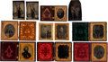 Photography:Tintypes, Large Lot of 19th Century Photography Including Firemen, Tradesmen, Hunters and a Sailor.... (Total: 7 Items)