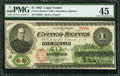 Error Notes:Large Size Errors, Fr. 17a $1 1862 Legal Tender PMG Choice Extremely Fine 45.. ...