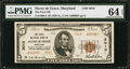 National Bank Notes:Maryland, Havre de Grace, MD - $5 1929 Ty. 2 The First NB Ch. # 3010. ...