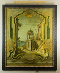Decorative Arts, Continental, A Venetian Port Scene . Oil on Canvas with Mixed Media. Early 21stcentury, signed M Smith . 66 x 56 inches (167.6 x 142...
