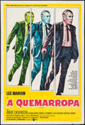 "Movie Posters:Crime, Point Blank & Other Lot (MGM, 1967). Argentinean Poster (29"" X43"") & Three Sheet (41"" X 79""). Crime.. ... (Total: 2 Items)"
