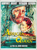 "Movie Posters:Adventure, The African Queen (Connaissance du Cinema, R-1990s). French Grande(46.5"" X 62.5""). Adventure.. ..."